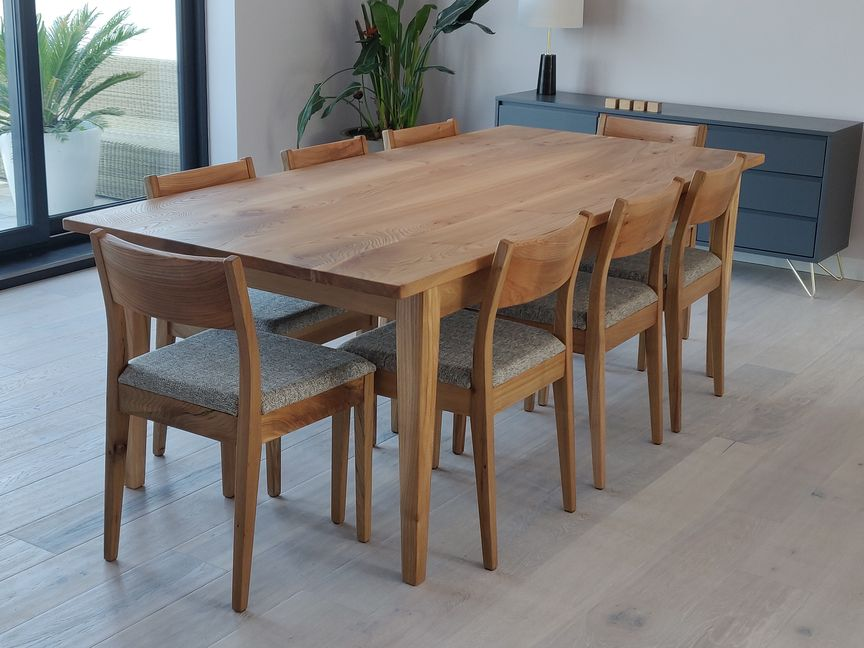 Bespoke Table And Chairs In Elm Orpago