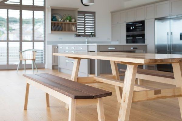 Handmade Dining Room Tables Oak