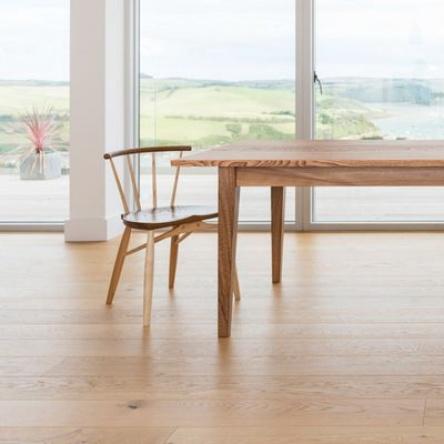 Bespoke handmade dining table