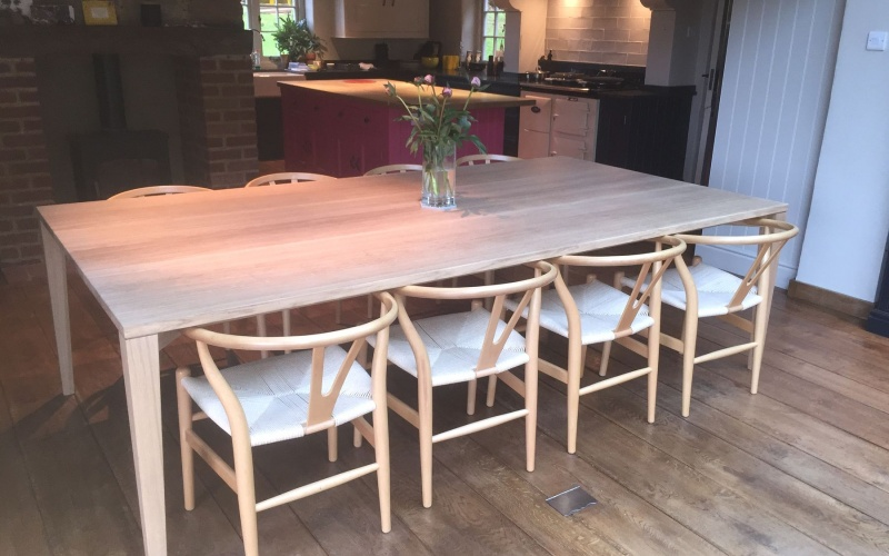A bespoke contemporary table