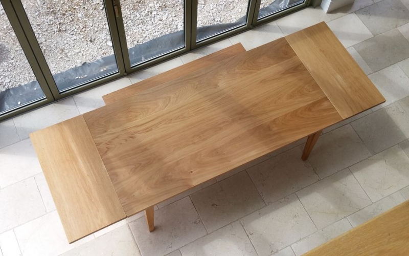 Bespoke dining table from Orpago